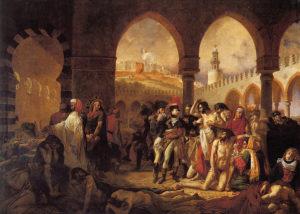 Antoine J.Gros: Bonaparte visitant les pestiférés de Jaffa
