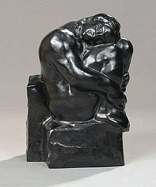"Malfray sculpture ""Le silence"""