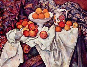 Cézane la pomme et l'orange